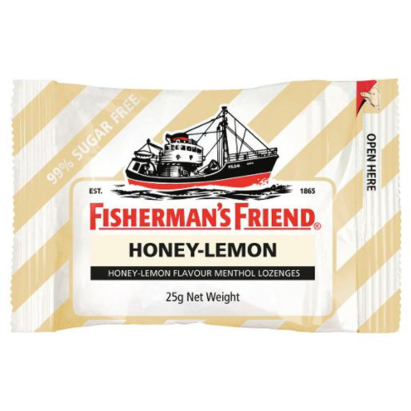 Fisherman's Friend Sugar Free Lozenges Honey & Lemon 25g