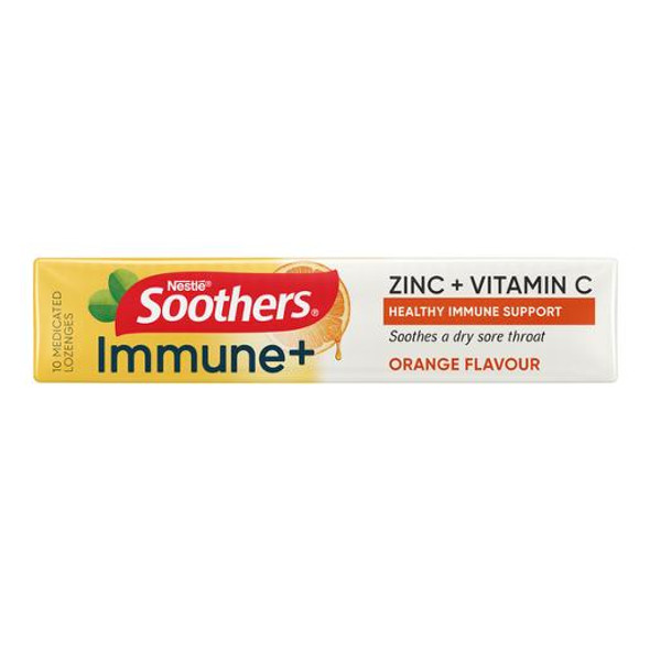 Soothers Immune Plus Medicated Lozenger 40gm