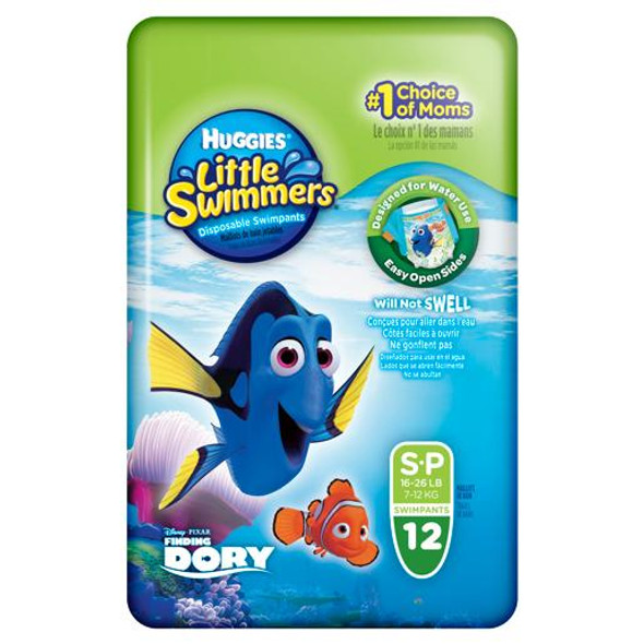 Huggies Little Swimmers Swimpants Small 12 Pack (Size 1)