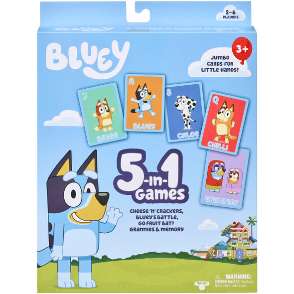 Bluey 5-in-1 Game