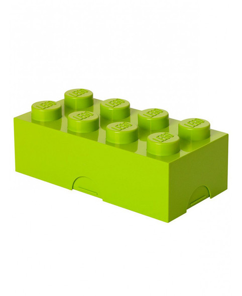 Lego Lunch Storage Box - Lime Green