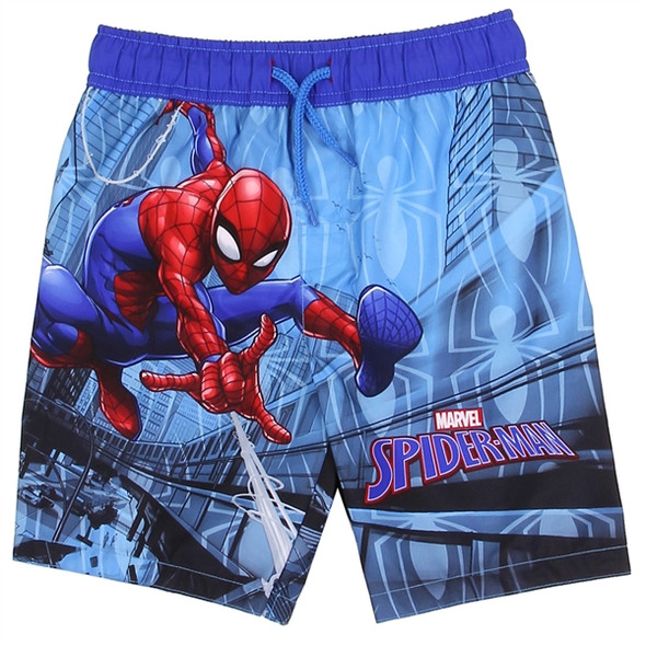 Boys Toddler Spiderman Swim Shorts