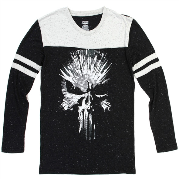 Punisher Mens Long Sleeve Top