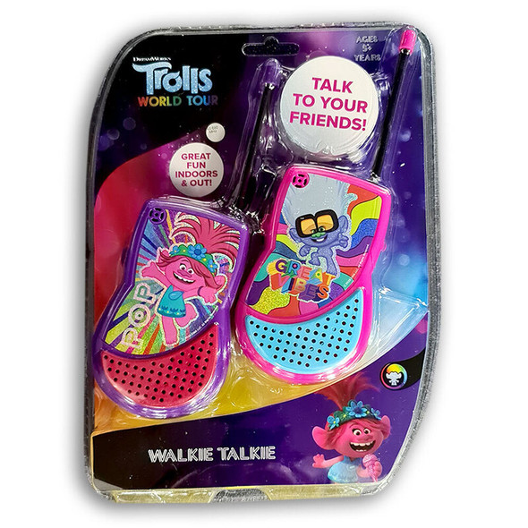 Dreamworks Trolls 2 Walkie Talkie Toy