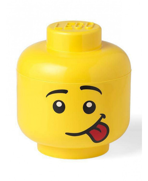 Lego Large Storage Head - Silly Face