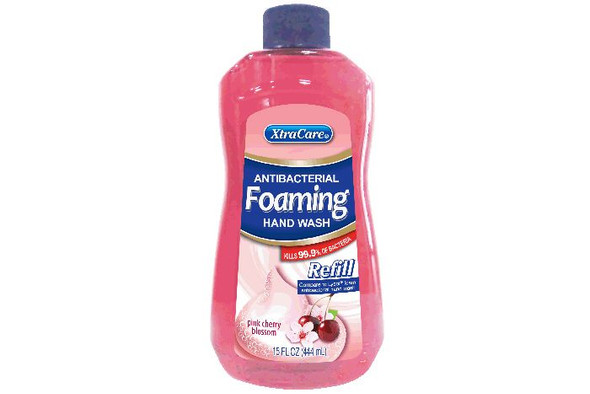Antibacterial Foaming Hand Wash Refill - Pink Cherry Blossom 444ml