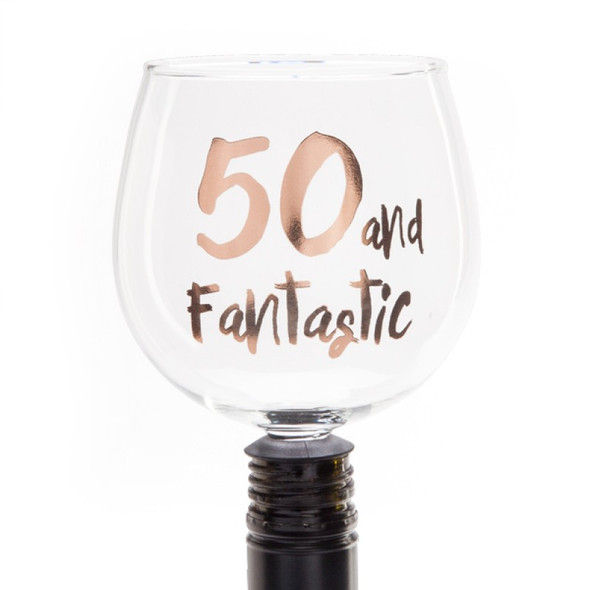 50 and Fantastic Tipple Topper