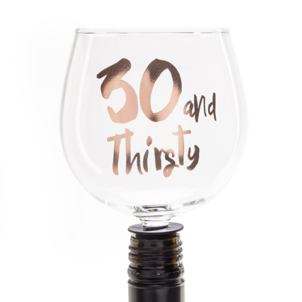 30 and Thirsty Tipple Topper