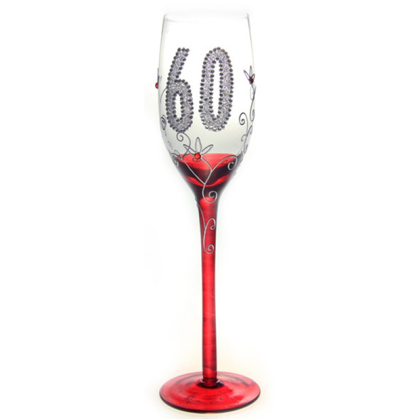 60th Birthday Traditional Champagne Flute