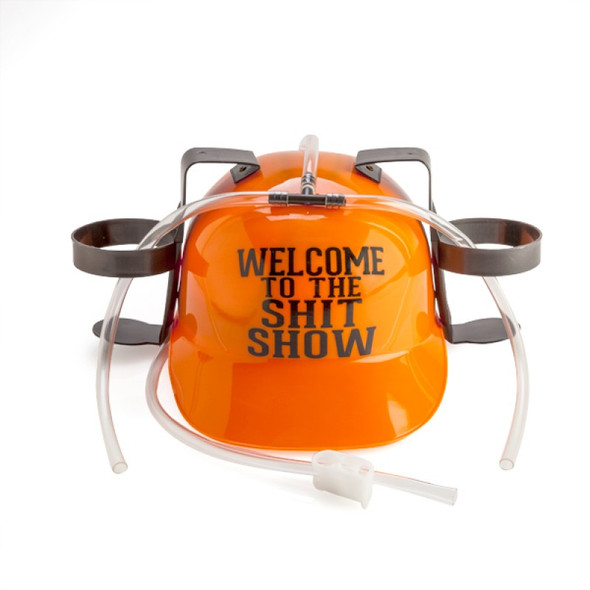 Welcome to the Sh*t Show Drinking Hat