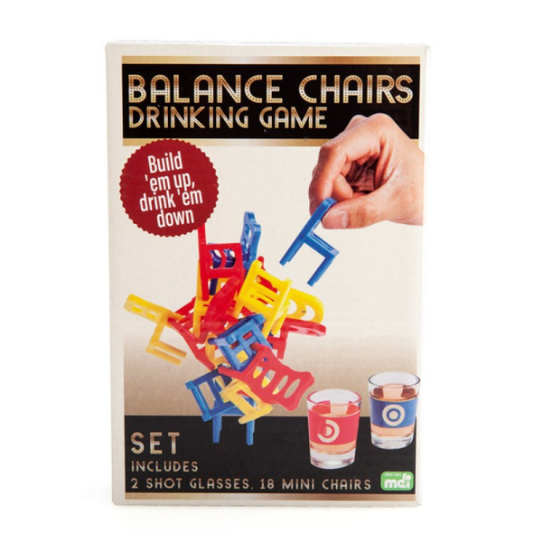 Balancing Chairs Drinking Game