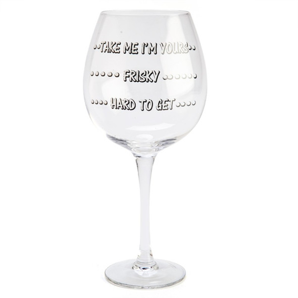 Take Me I'm Yours Gobble Glass