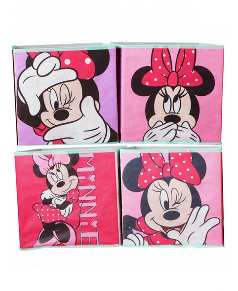 Minnie Mouse Cube Storage Boxes