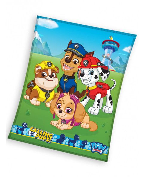 Paw Patrol Pups Fleece Blanket