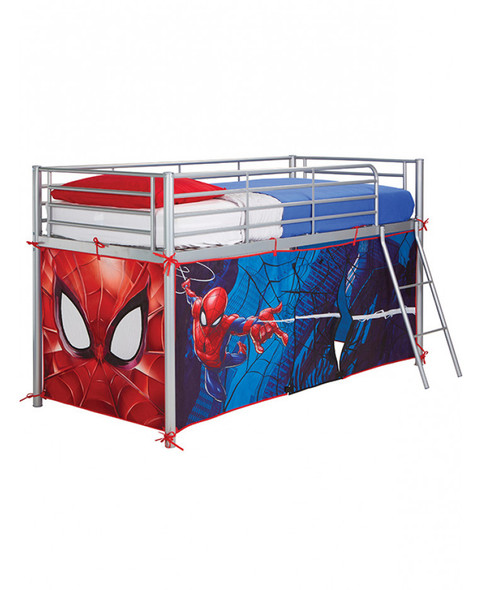 Spiderman Mid-Sleeper Bed Tent