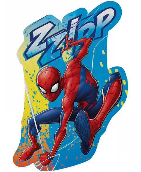 Spiderman Shaped Beach Towel