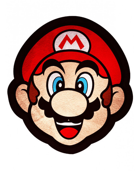 Nintendo Mario Shaped Cushion