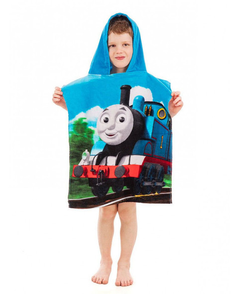 Thomas And Friends Hooded Towel Poncho