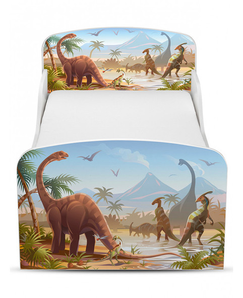 Jurassic Dinosaurs Toddler Bed