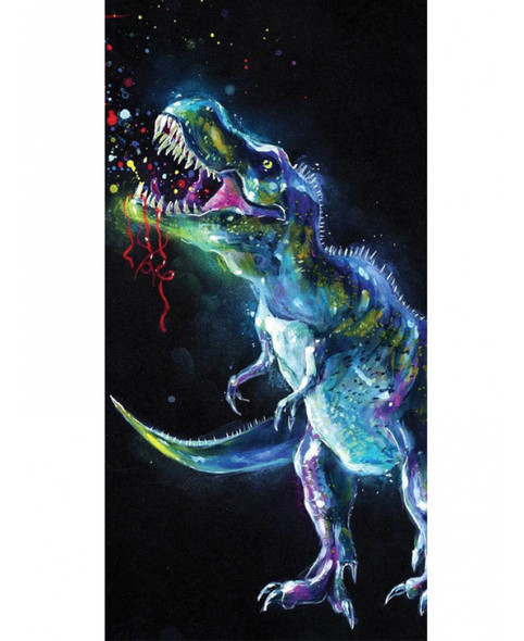 Dinosaur Colour Beach Towel