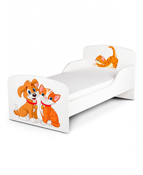 Cat And Dog Toddler Bed