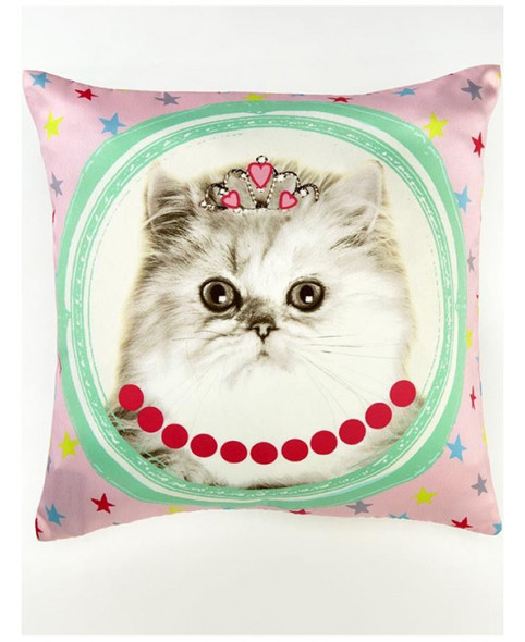 Hall Of Fame Cat Cushion