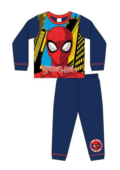 Boys Toddler Spiderman Winter Sleepwear