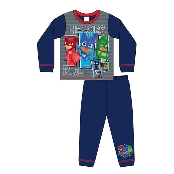 Boys Toddler PJ Mask Winter Sleepwear