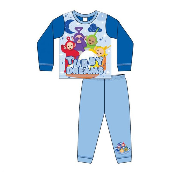 Boys Toddler Teletubbies Winter Sleepwear