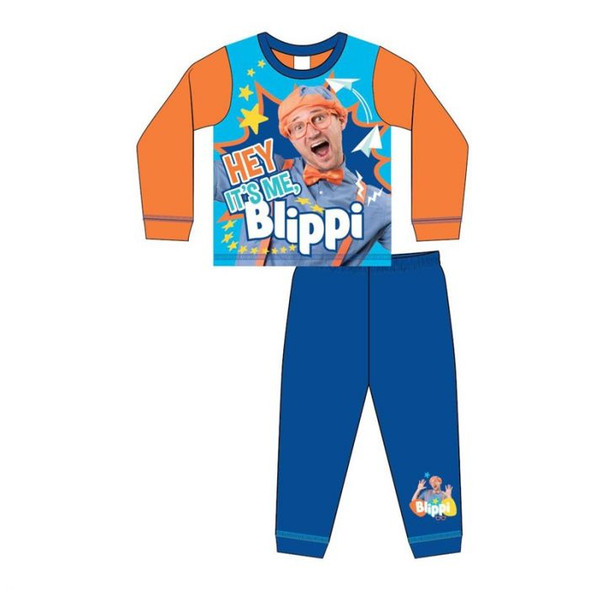 Boys Toddler Blippi Sublimation Pyjamas