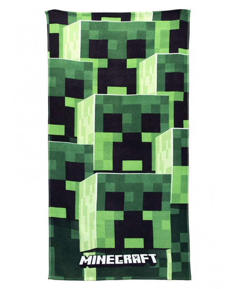 Minecraft Tower Beach Towel
