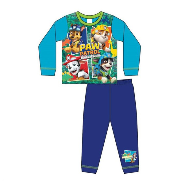 Boys Toddler Blue Paw Patrol Sublimation Pyjamas