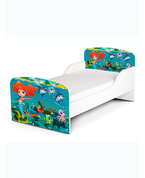 Mermaid Toddler Bed
