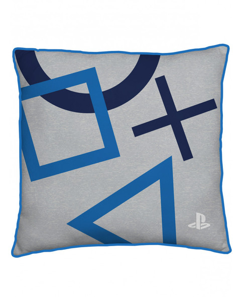 Playstation Blue Square Cushion