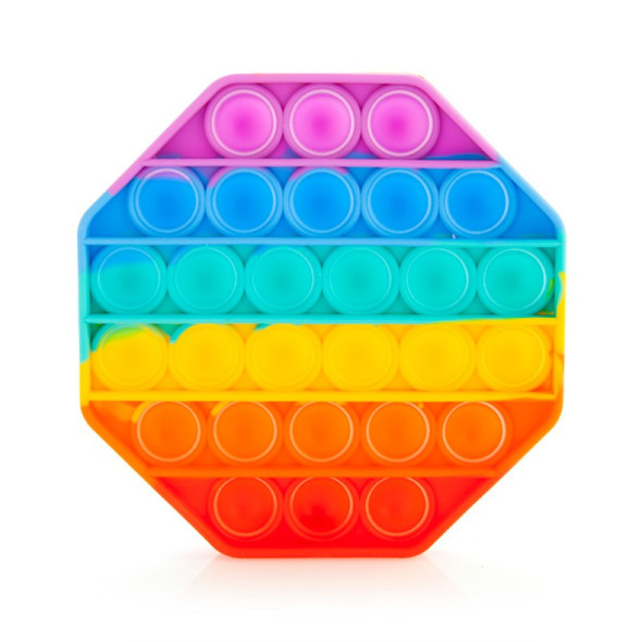 Push & Pop Rainbow Octagon