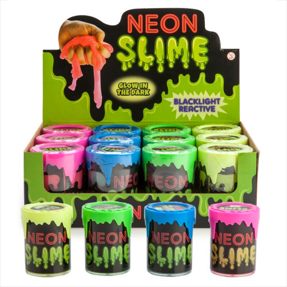 Glow-in-the-Dark Neon Slime - Random Sent