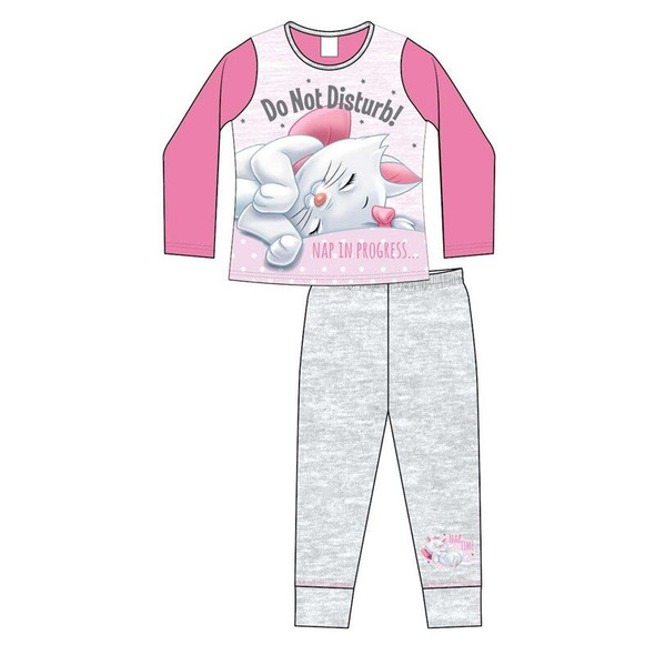Girls Disney Marie Grey Winter Sleepwear