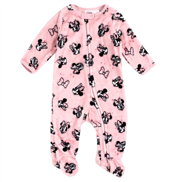 Baby Girls New Born Minnie Mouse Grow Suit