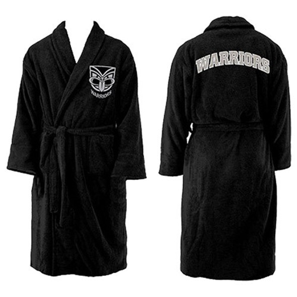 Warriors Youth L/S Robe