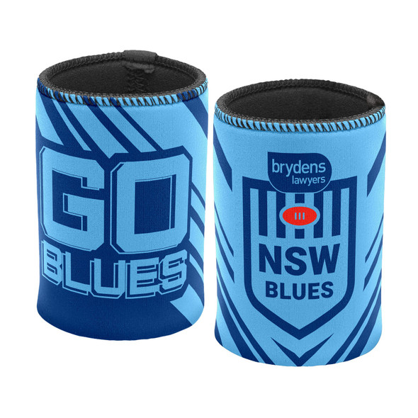 NSW Blues Go Logo Can Cooler