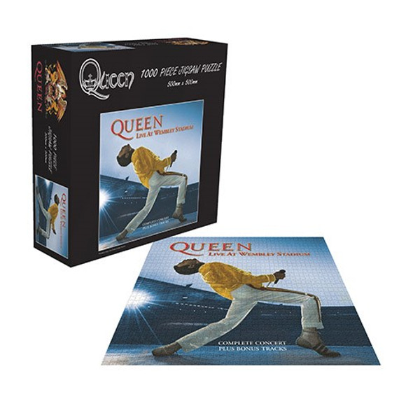 Queen Live at Wembley - 1000 Piece Jigsaw Puzzle