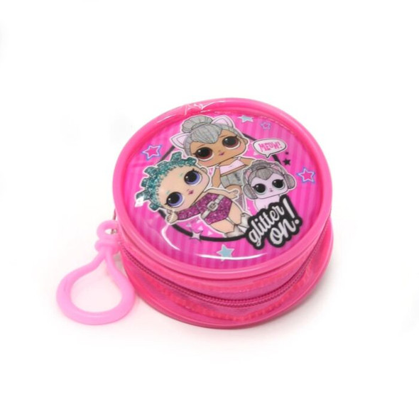 LOL Surprised Zipped Round Coin Purse