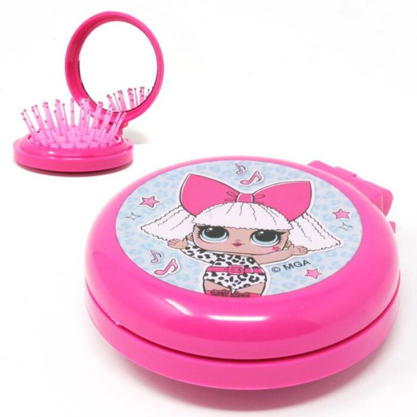 LOL Surprise Hair Brush With Mirror