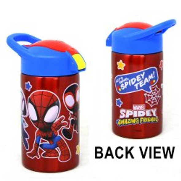 Spidey and Friends 15.5oz Stainless Steel Vector Bottle