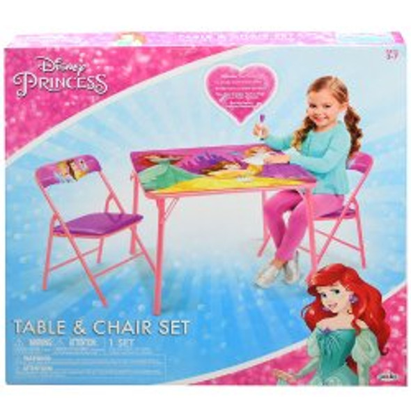 Princess Folding Activity Table & Chairs