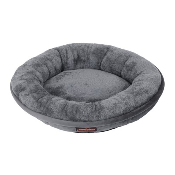Small Moscow Round Pet Bed - Grey