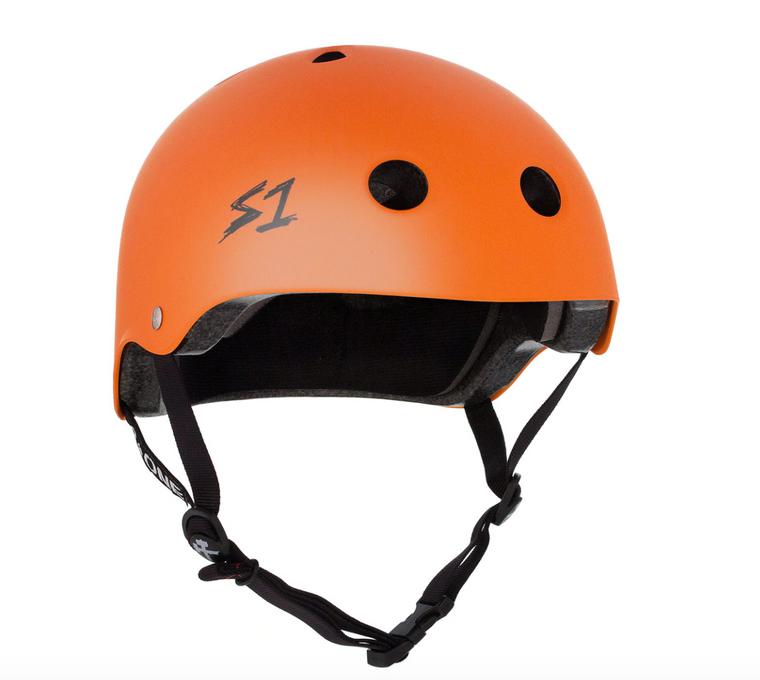 S1 Lifer Helmet - Orange Matte