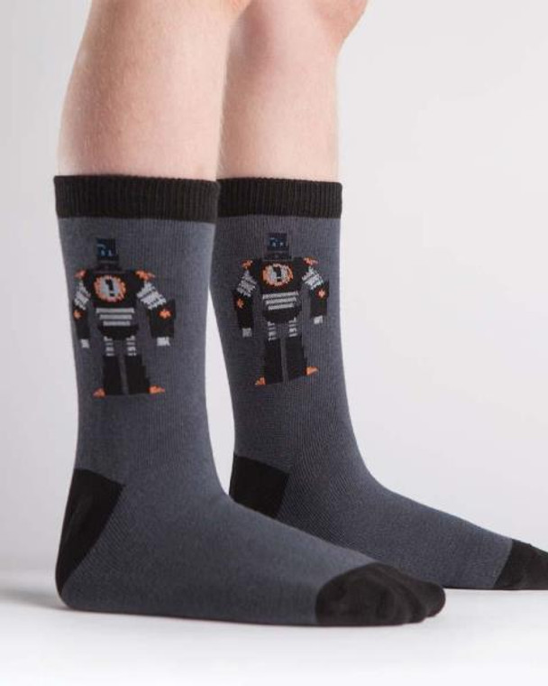 Sock It To Me Bring It Bot Kids Crew Socks
