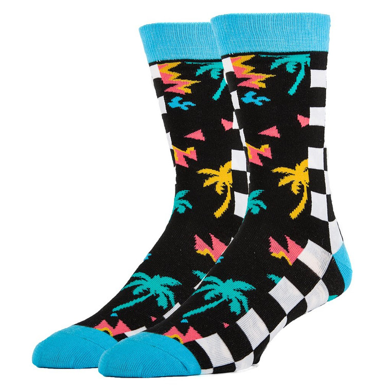 90'S Board Crew Socks