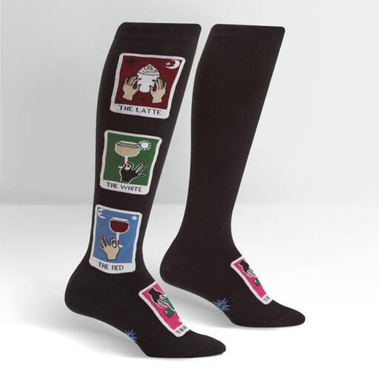 Daily Tarot Knee High Socks